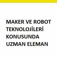 maker uzmanıaranıyor, maker uzman eleman iş ilanları, maker uzman eleman arayan, robot teknolojisi eleman iş ilanı, robot teknolojisi elemanı arayanlar, bilgisayar elemanı iş ilanları sayfası