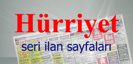 Hürriyet Seri İlanlar